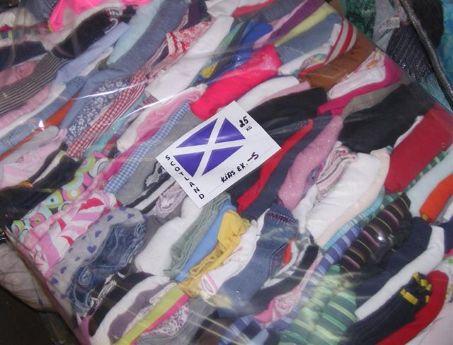 Секонд хенд одежда оптом из Шотландии