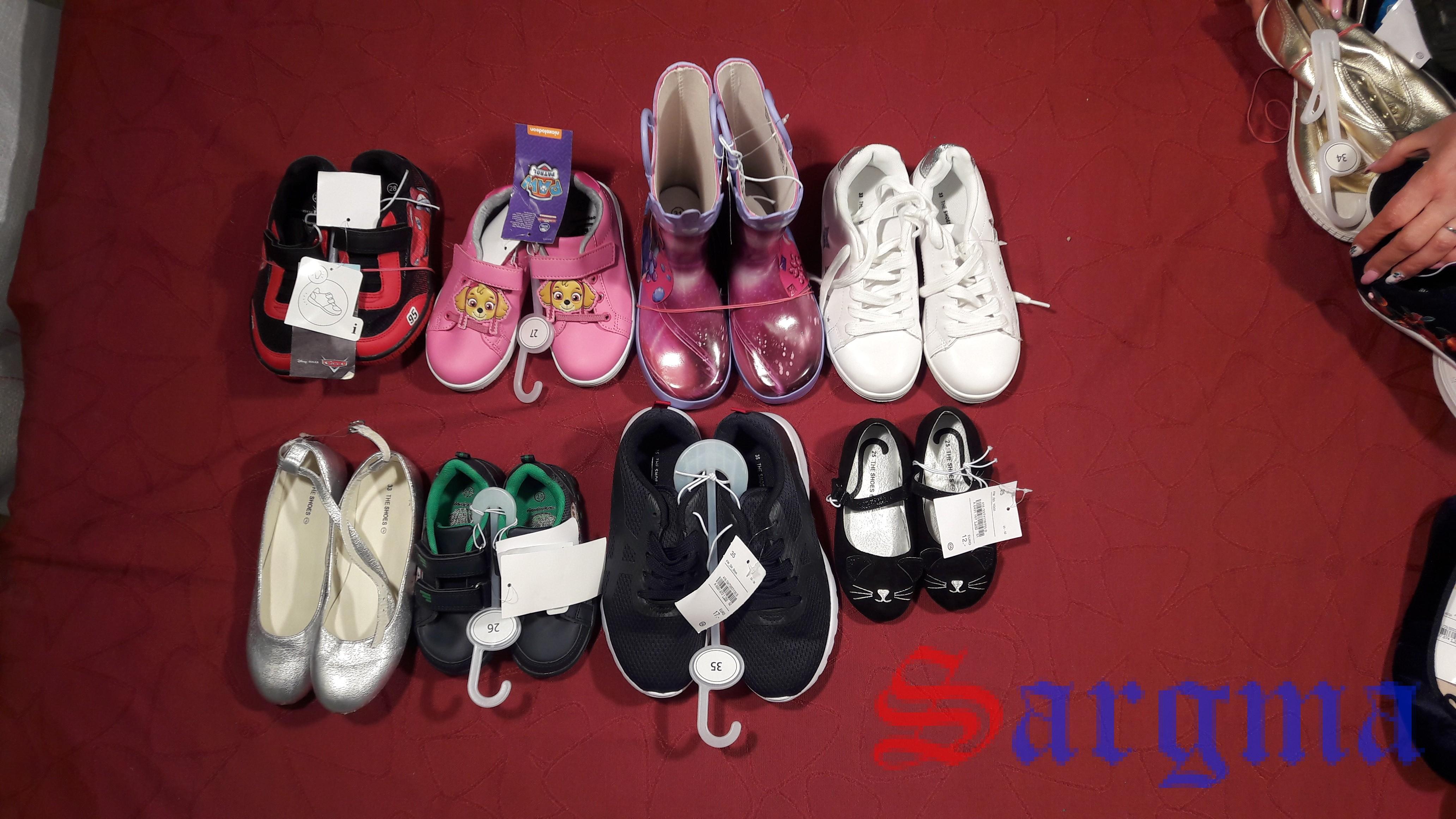 Обувь сток детская лето — (С/А)