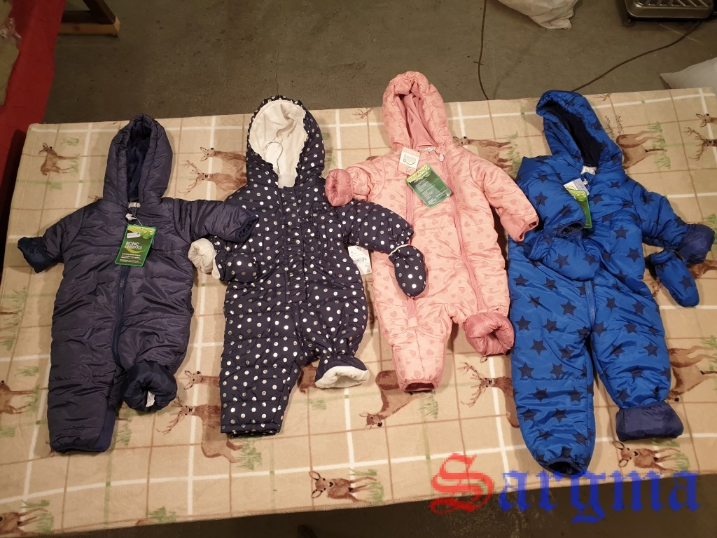 Детские куртки+комбинезоны