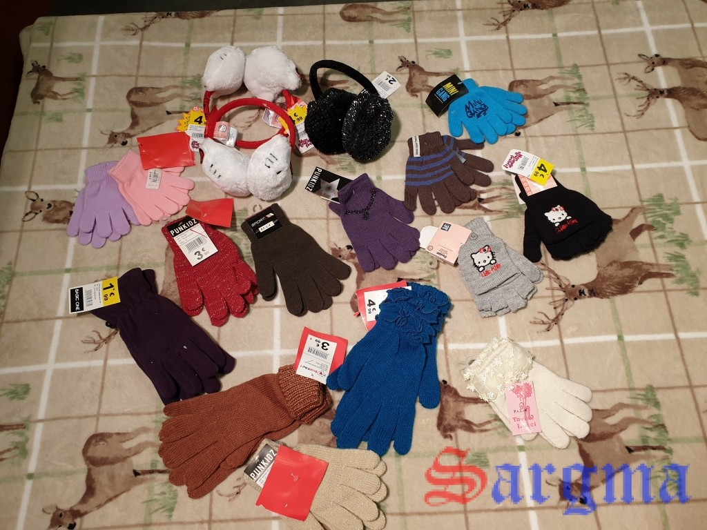 kids hats+gloves